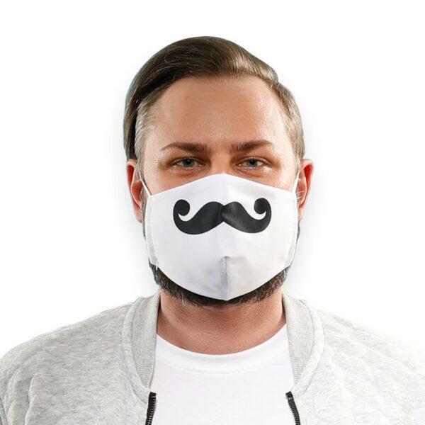 Marcel_Shop_mit_schwarzer_Schnurrbart_Maske