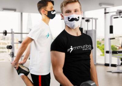 Sport mit Maske